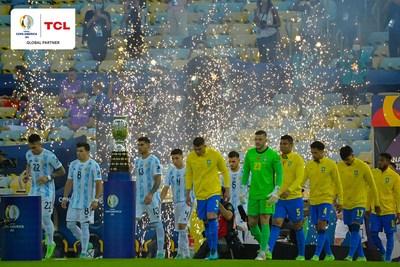Argentina vs. Brasil (PRNewsfoto/TCL Group)