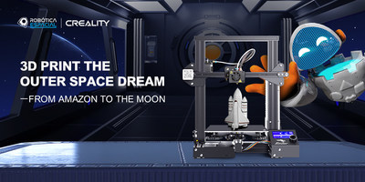 Creality participa en conferencia de prensa sobre el proyecto Robótica Espacial