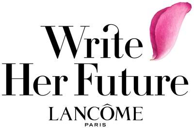 Lancôme Write Her Future Logo