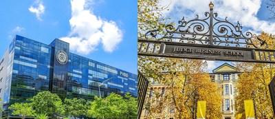 La Escuela de Negocios HSBC de la Universidad de Pekín y la Escuela de Negocios Judge de Cambridge (PRNewsfoto/Peking University HSBC Business School)